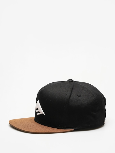 Czapka z daszkiem Emerica Triangle Snapback ZD (black/brown)