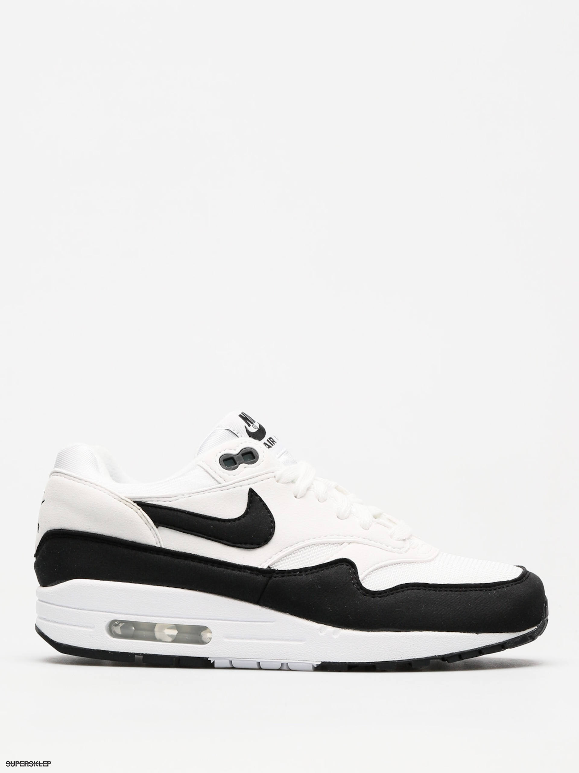 Buty NIKE Air Max 1 319986 109 WhiteBlack Sneakersy