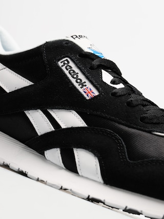 Buty Reebok CL Nylon (black/white)