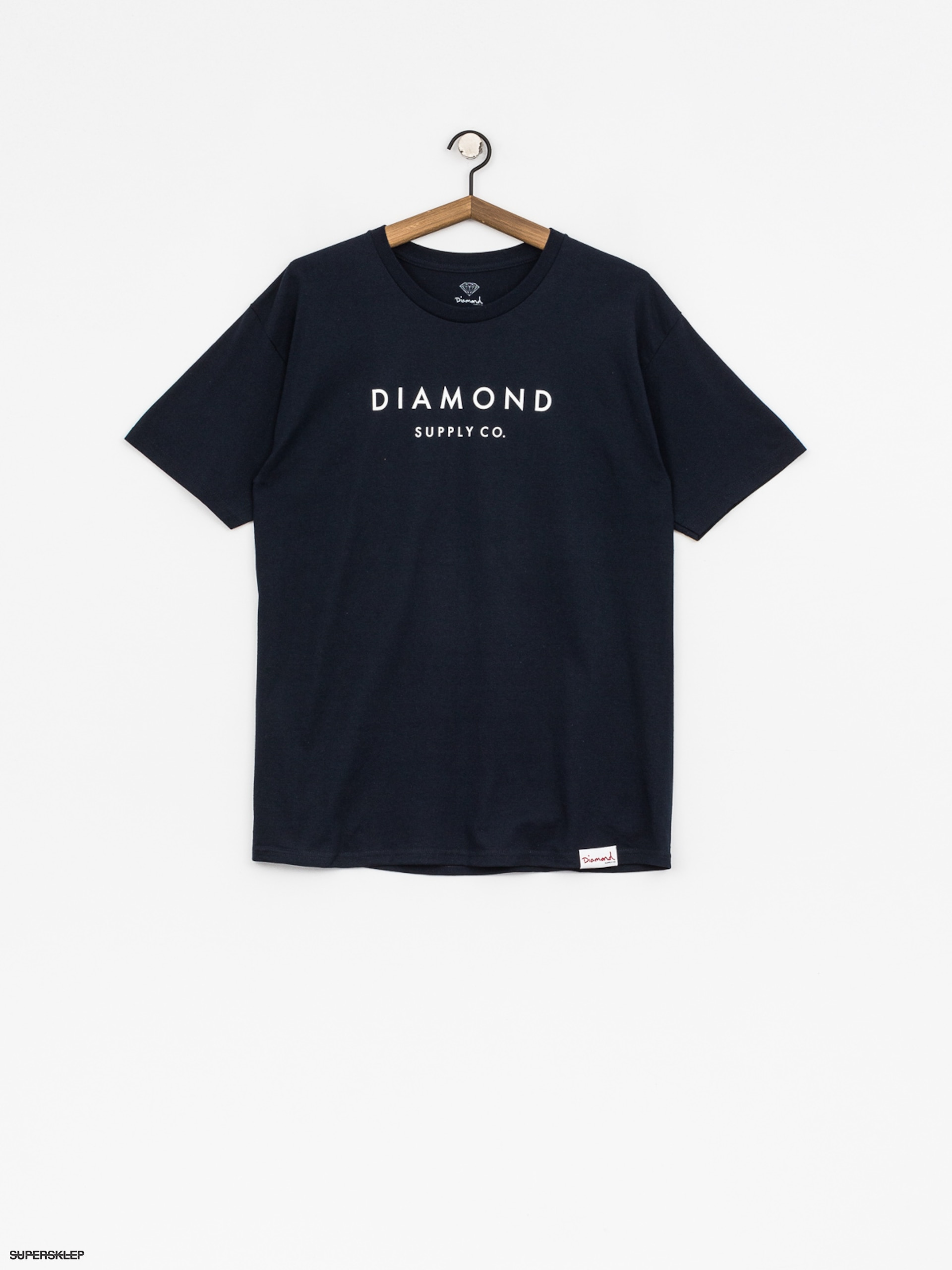 T-shirt Diamond Supply Co. Stone Cut (navy)