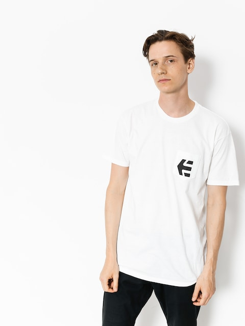 T-shirt Etnies Icon Pocket (white)