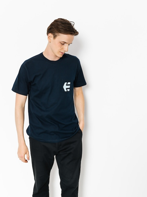T-shirt Etnies Icon Pocket (navy)