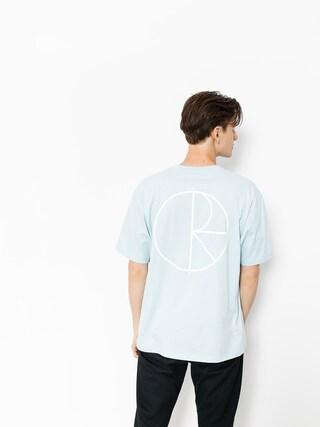T-shirt Polar Skate Stroke Logo (light blue)