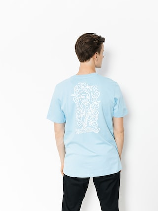 T-shirt adidas Krooked (clear blue/white)