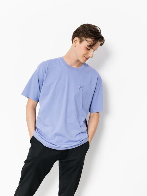 T-shirt Polar Skate Happy Sad Garment Dyed