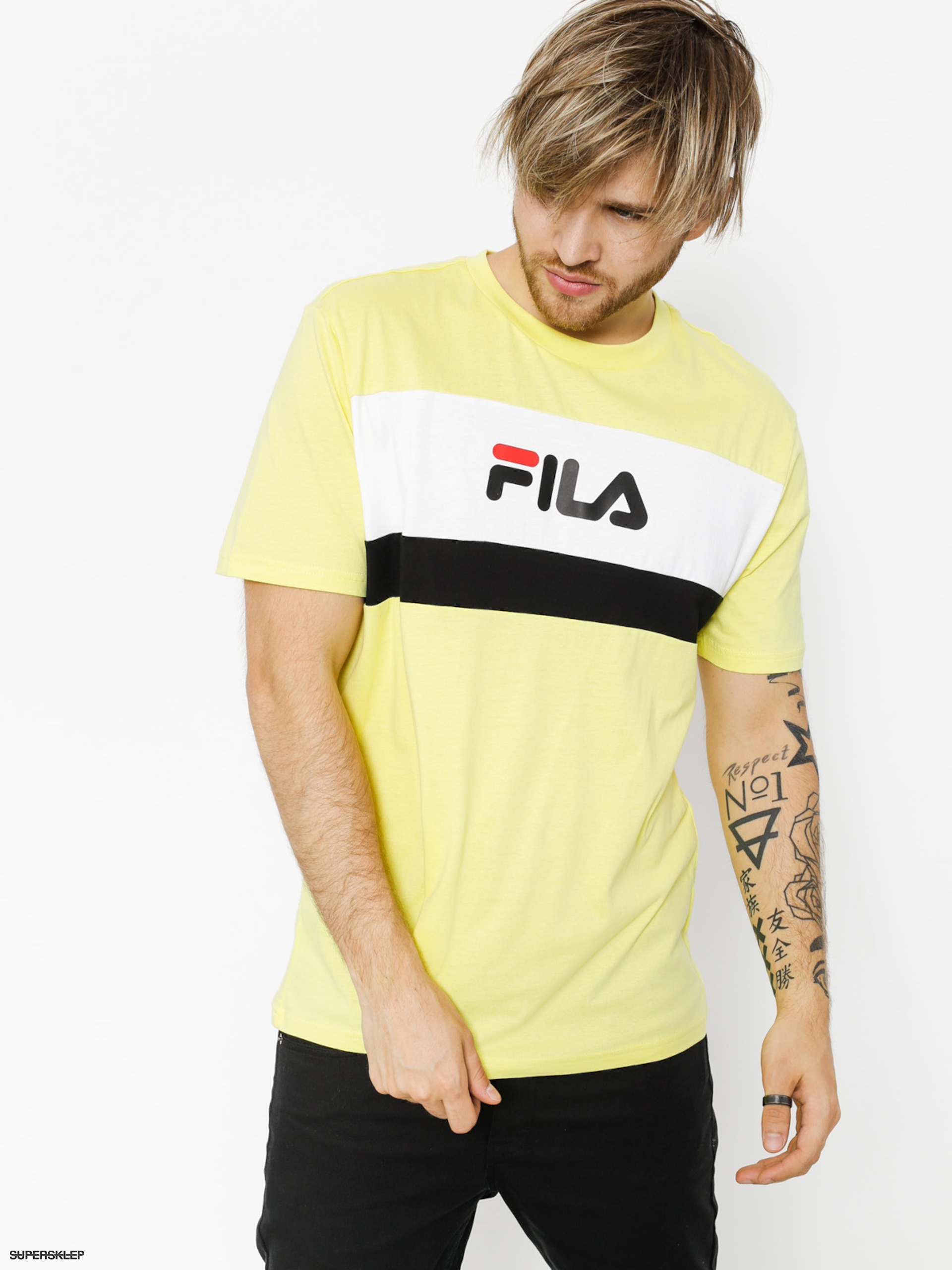 T-shirt Fila Aaron (canary yellow)
