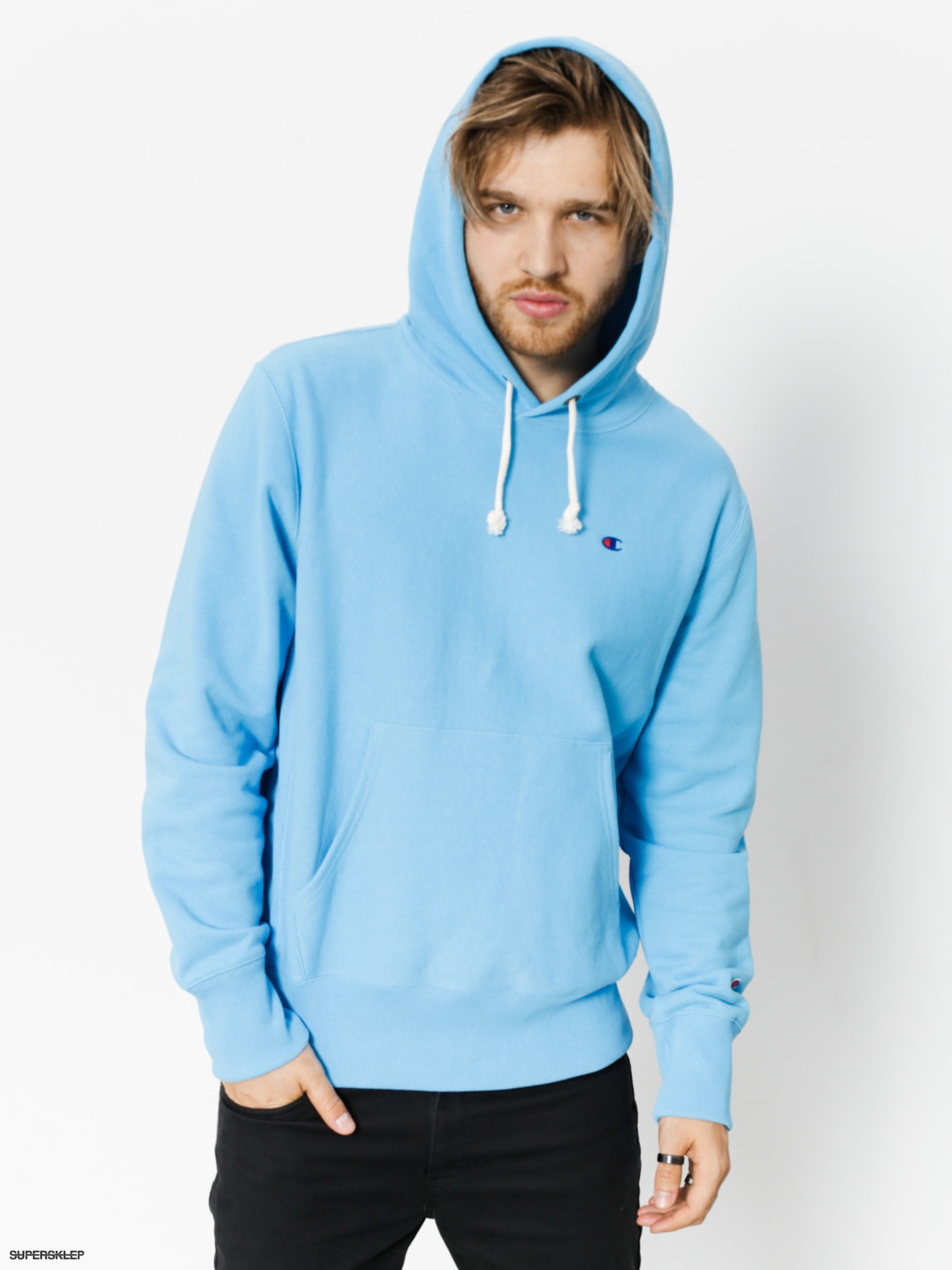 Bluza z kapturem Champion Reverse Weave Hooded Sweatshirt HD (azb)