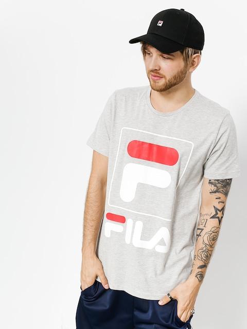 T-shirt Fila Zach (light grey melange bros)