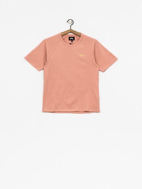 T-shirt Stussy Quinn S Sl Raglan Wmn
