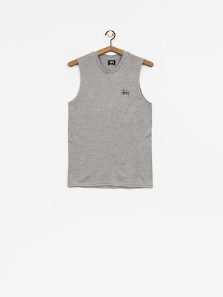 Koszulka Stussy Basic Stussy Raw Muscle Wmn (grey heather)