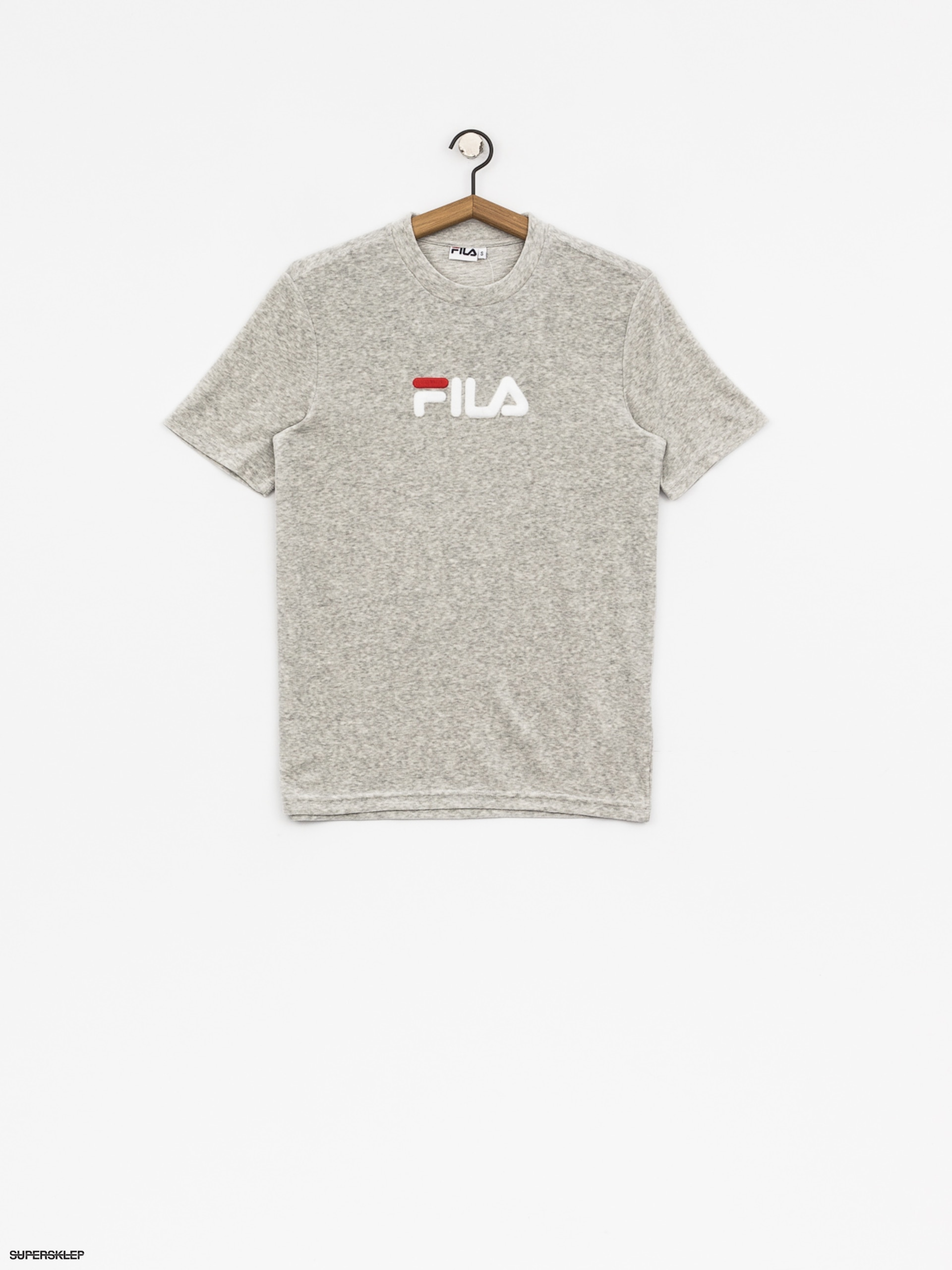 T-shirt Fila Richard Velvet Wmn (light grey melange bros)