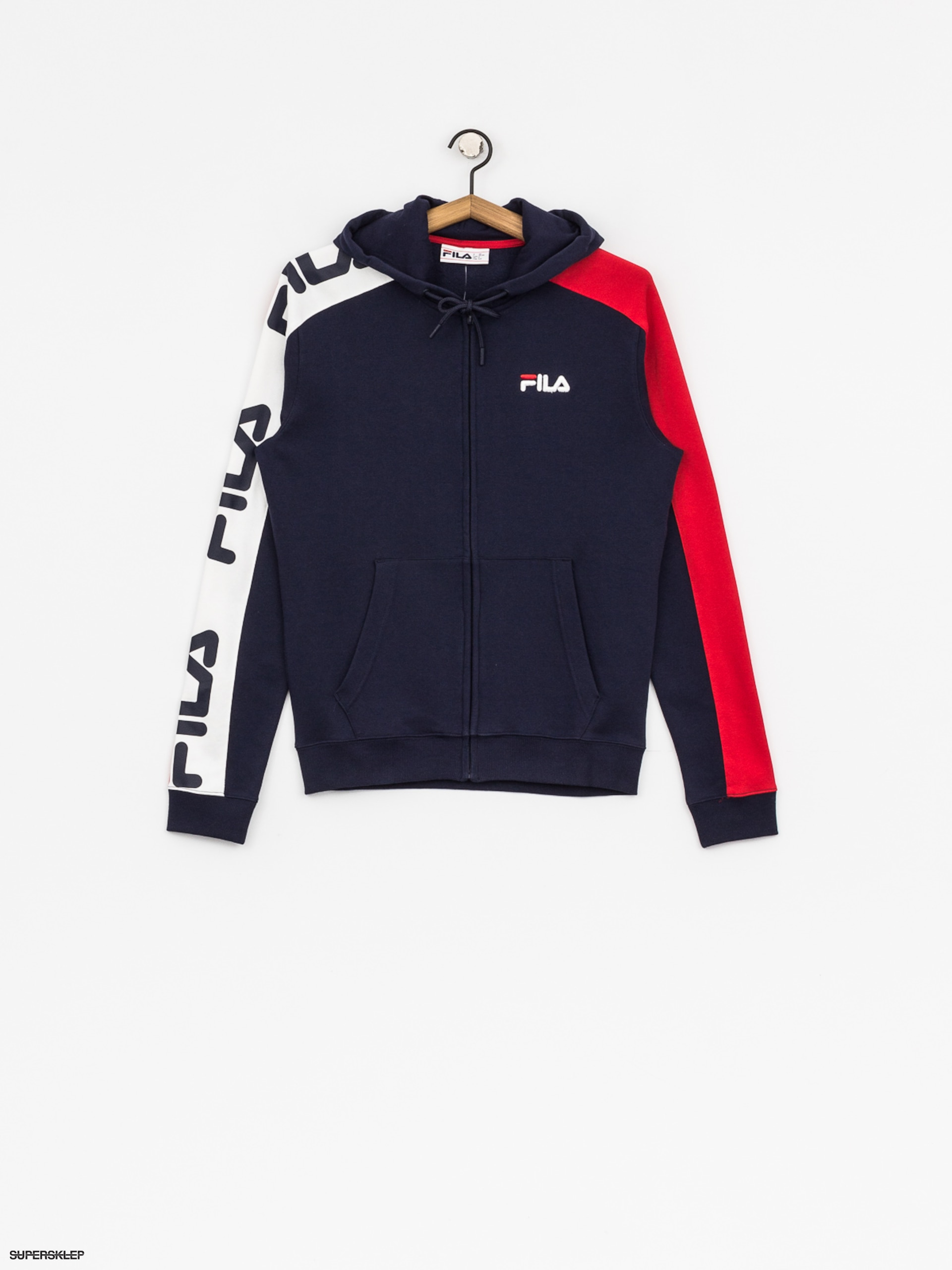 Bluza z kapturem Fila Stan Cut And Sew HD Wmn (peacoat)