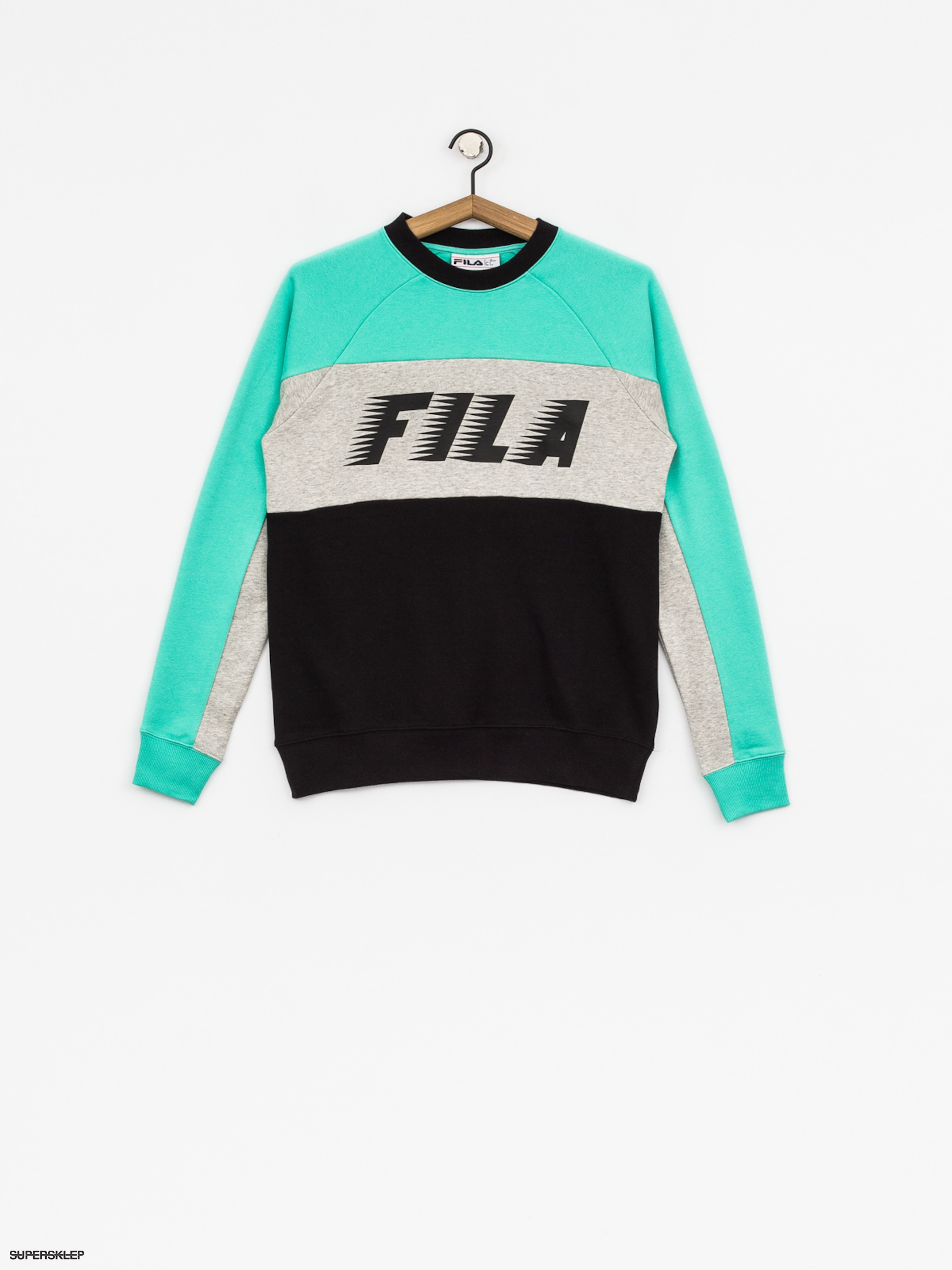 Bluza Fila Layton Colour Block Wmn (black/cockatoo)
