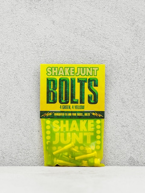 Montażówki Shake Junt Bolts Phillips (green/yellow)