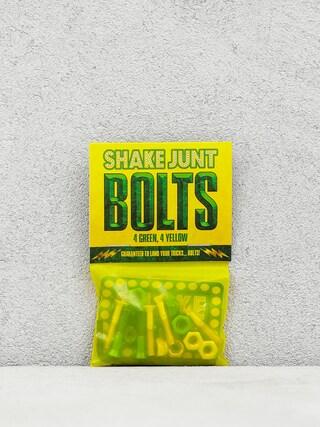 Montau017cu00f3wki Shake Junt Bolts Allen (green/yellow)