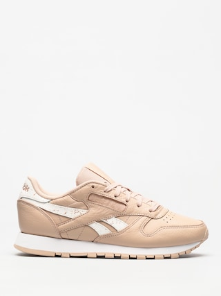 Buty Reebok Classic Leather Wmn (sidestripes bare beige/white)
