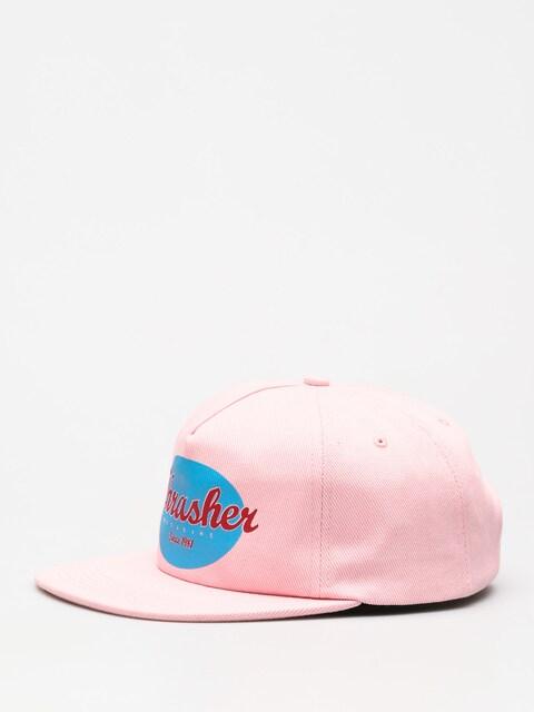 Czapka z daszkiem Thrasher Oval ZD (pink)