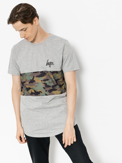 T-shirt Hype Camo Panel (grey/camo)