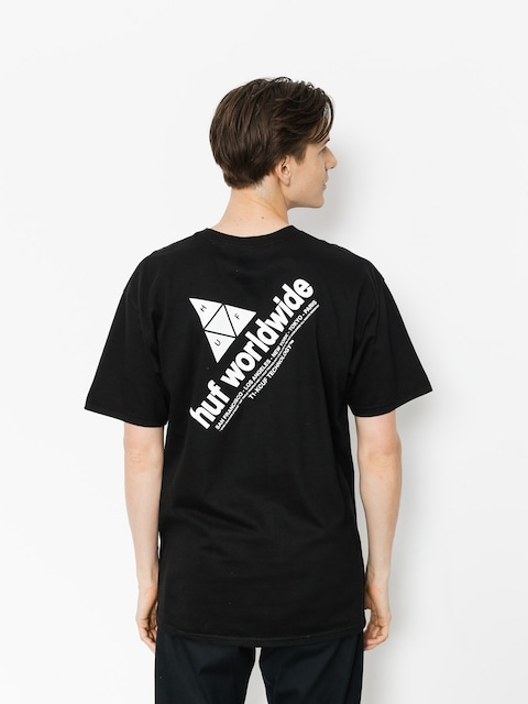 T-shirt HUF Peak (black)