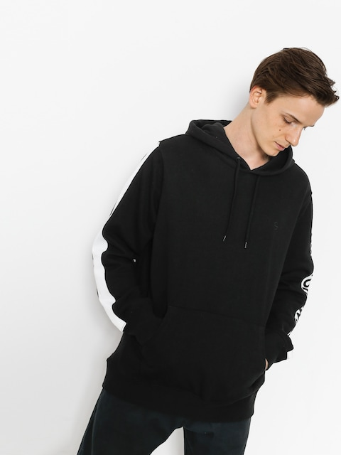 Bluza z kapturem HUF Huf Worldwide HD (black)
