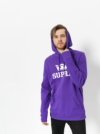 Bluza z kapturem Supra Above HD (purple/white white)