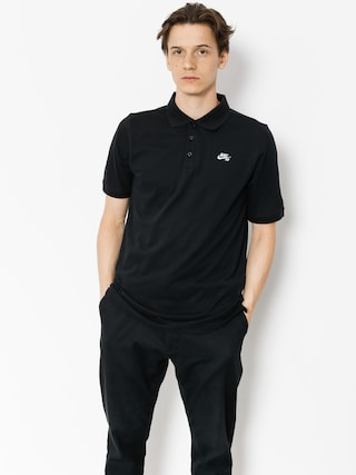 Polo Nike SB Sb Dri Fit Pique (black)