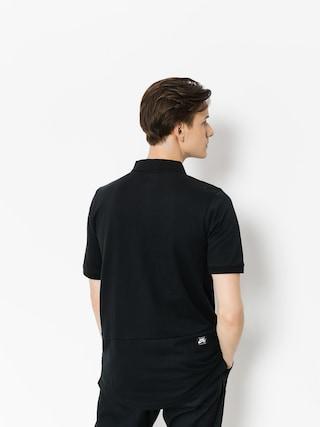 Polo Nike SB Sb Dri Fit Pique (black)
