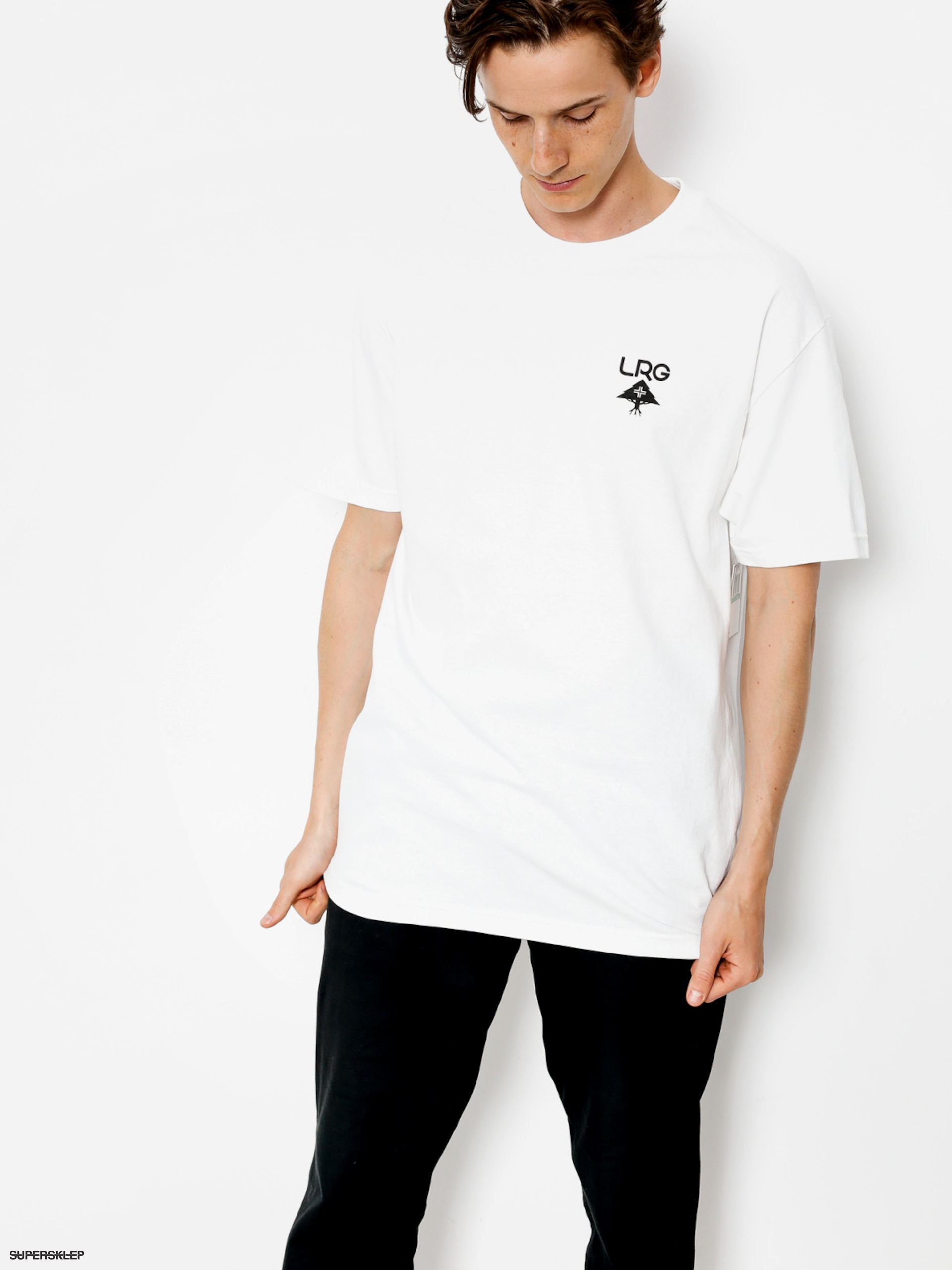 T-shirt LRG Logo Plus (white)