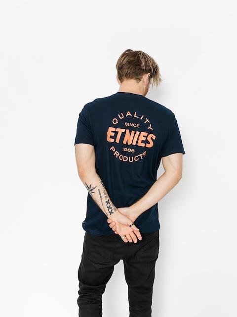 T-shirt Etnies Quality Control (navy)
