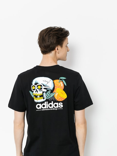 T-shirt adidas Trpc Skl (black/white/orange/core green s17)