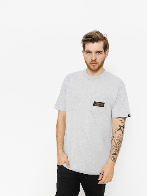 T-shirt Emerica Mfg Co Pckt (grey/heather)