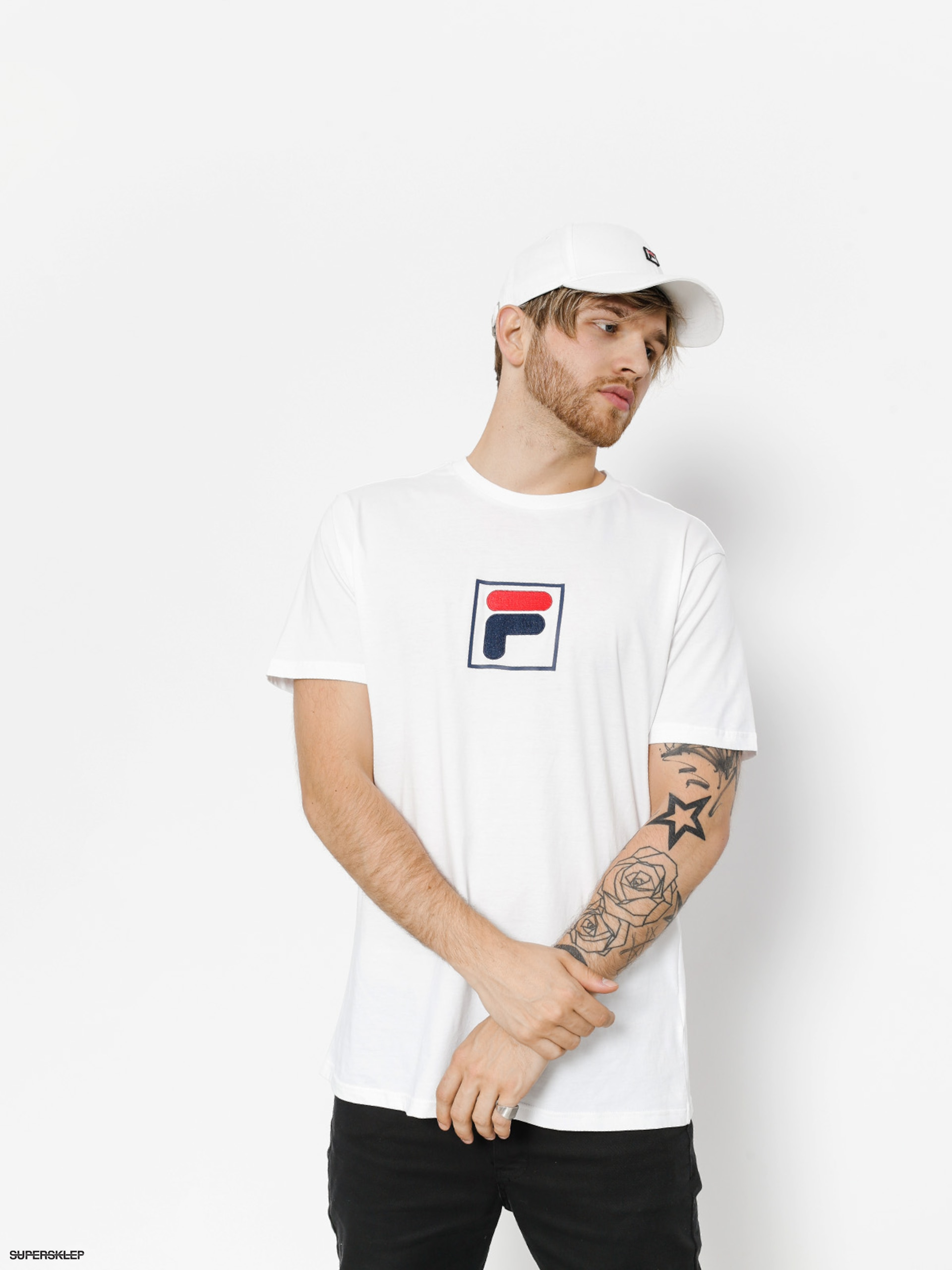 T-shirt Fila Evan (bright white)
