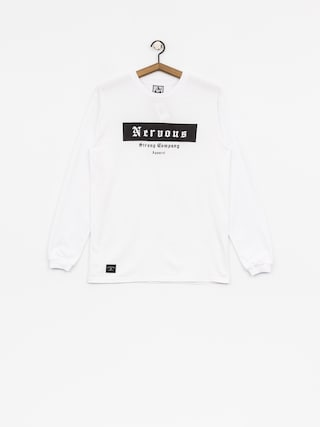 Longsleeve Nervous Ghotic Box (white)