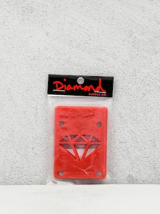 Podkładki Diamond Supply Co. Rise & Shine Risers (red)