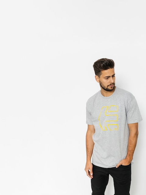 T-shirt Etnies Sketch Outline (grey/heather)