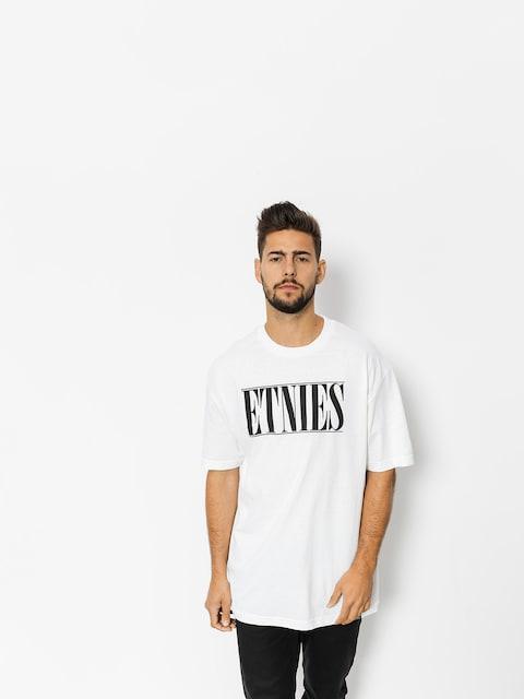 T-shirt Etnies Bleach (white)