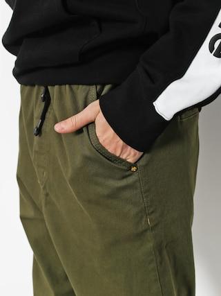 Spodnie Backyard Cartel Wave (olive green)
