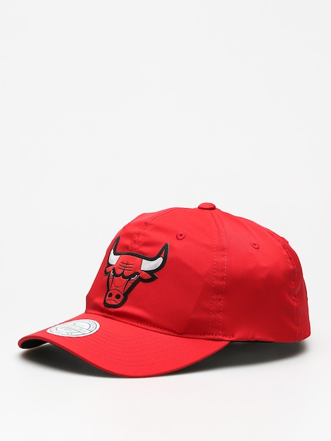 Czapka z daszkiem Mitchell & Ness Light & Dry Chicago Bulls ZD (red)