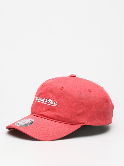 Czapka z daszkiem Mitchell & Ness Washed Cotton Dad ZD (coral)