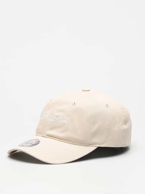 Czapka z daszkiem Mitchell & Ness Washed Cotton Dad ZD (beige)