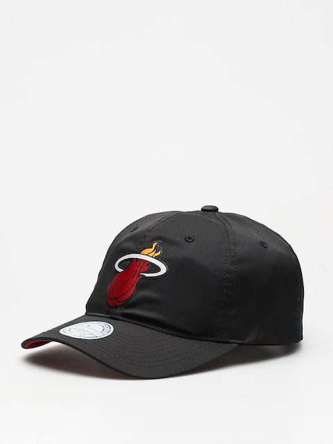 Czapka z daszkiem Mitchell & Ness Light & Dry Miami Heat ZD