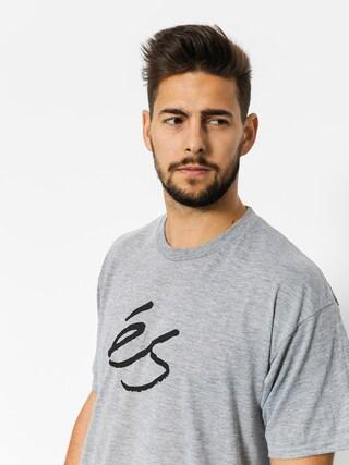 T-shirt Es Mid Script Tech (grey/heather)
