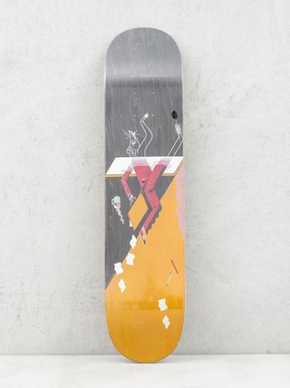 Deck Locals Skateboards Rat Race (orange/black)
