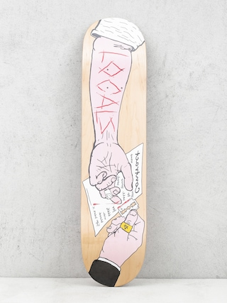 Deck Locals Skateboards Cyrograf (natural)