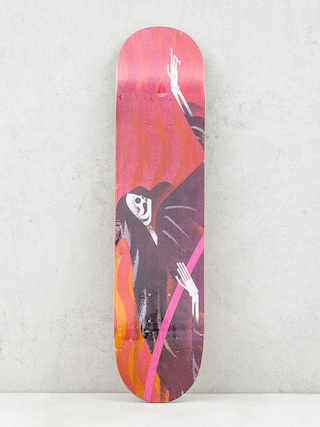 Deck Locals Skateboards Reaper (maroon)