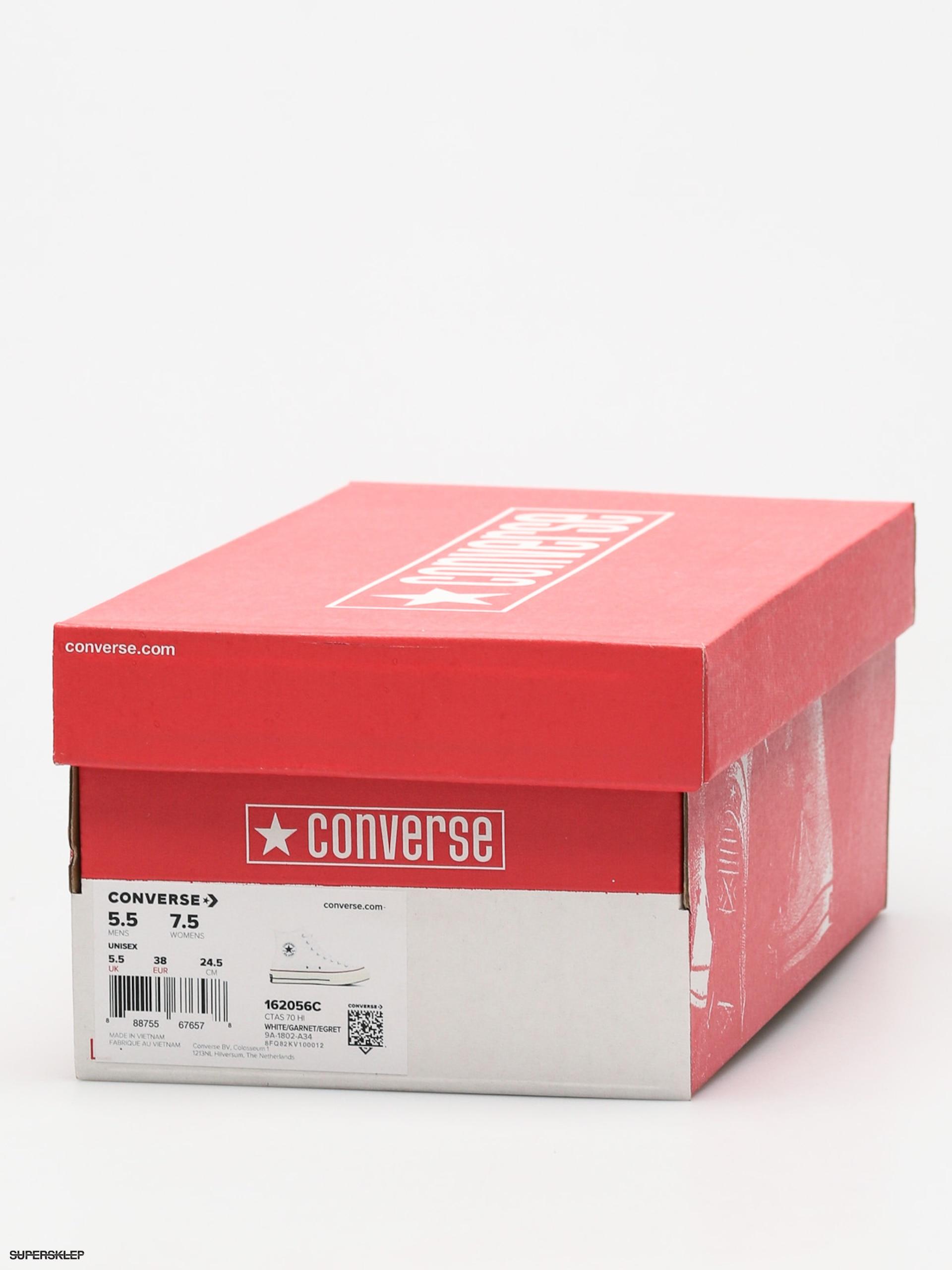 Trampki Converse Chuck 70 (white garnet egret) 29182a62ff4