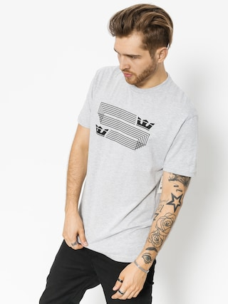 T-shirt Supra Linked Crown Reg (grey heather)
