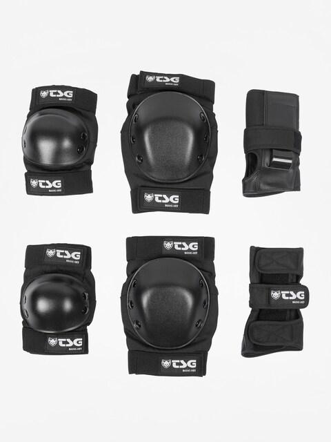 Ochraniacze TSG Basic Set (black)