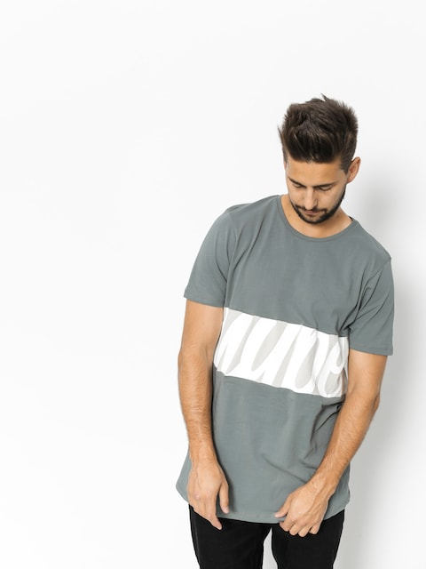 T-shirt Hype Script Pannel (grey/grey)