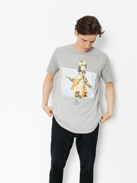 T-shirt Hype Statue (grey)
